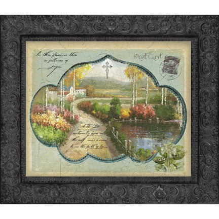 The Joyful Path Metal Framed Art