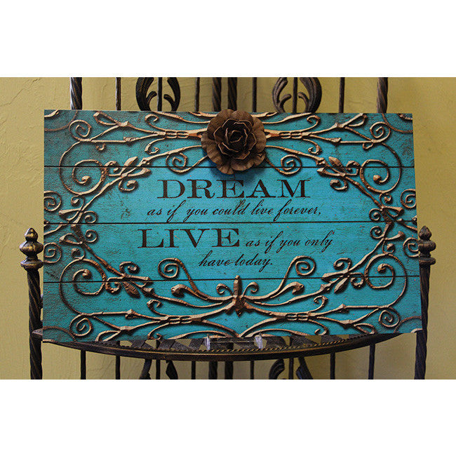 Dream Slat Plaque Bella Casa
