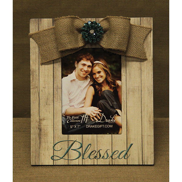 Blessed Frame White Wood