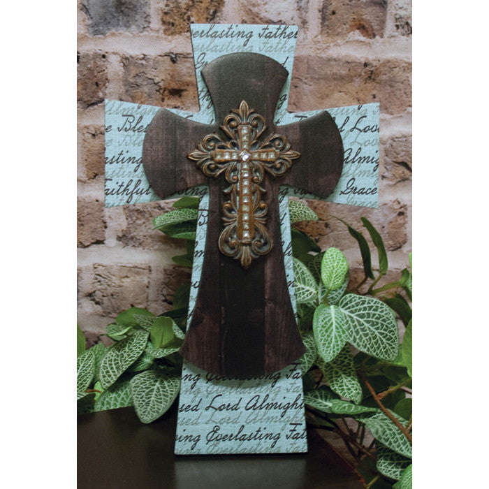 Everlasting Father Layered Cross
