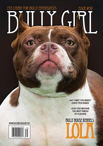 Bully Girl - Digital Issue 39 - BGM Warehouse - The Best Bully Breed Magazines, Clothing and Accessories