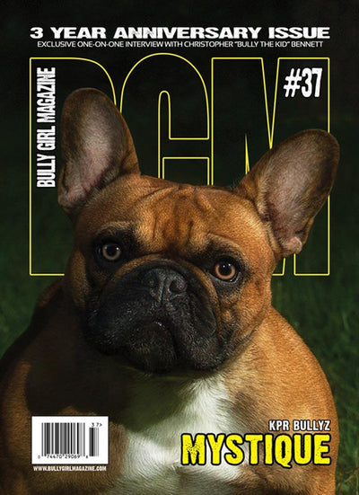 Bully Girl - Digital Issue 37 - BGM Warehouse - The Best Bully Breed Magazines, Clothing and Accessories