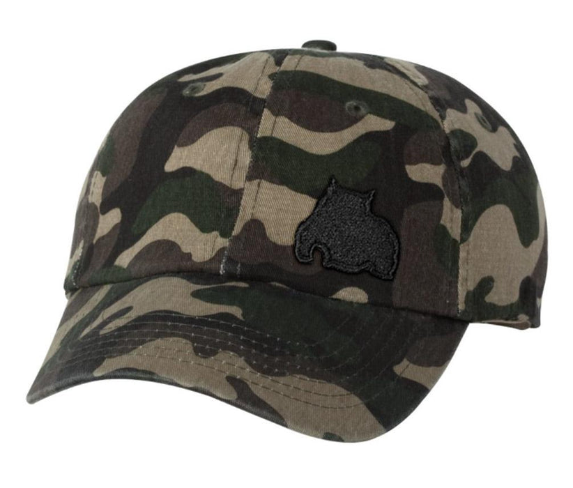 BGM Bully Dad Cap Green Camo