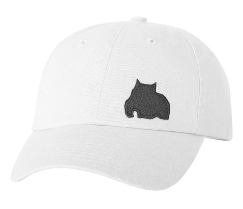 BGM Bully Dad Cap White