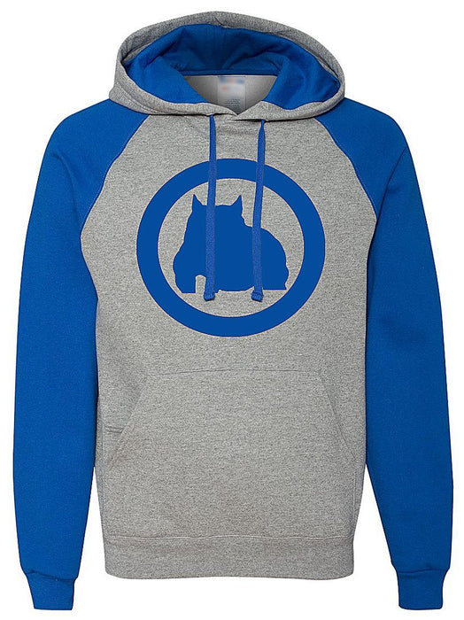 BGM Two-Tone Hooded Bully Pullover Sweatshirt