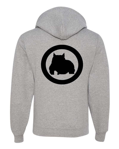 BGM Men's Athletic Bully Breed Zip Up Hoodie - BGM Warehouse - The Best Bully Breed Magazines, Clothing and Accessories