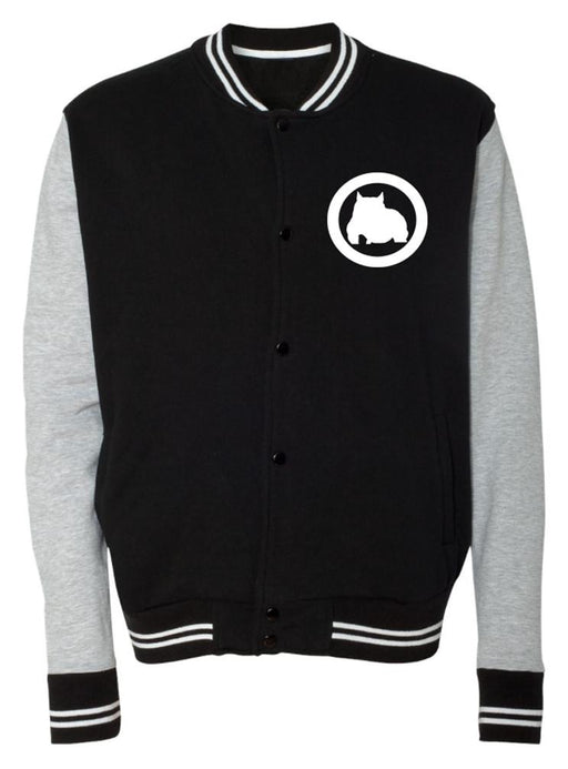 BGM Men's Varsity Jacket - Black