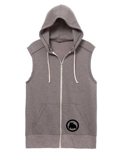 BGM Sleeveless Athletic Warm-Up Hoodie - BGM Warehouse - The Best Bully Breed Magazines, Clothing and Accessories