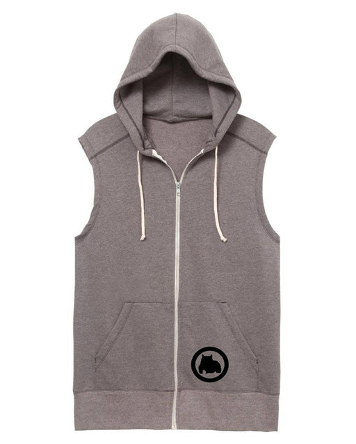 BGM Sleeveless Athletic Warm-Up Hoodie - BGM Warehouse