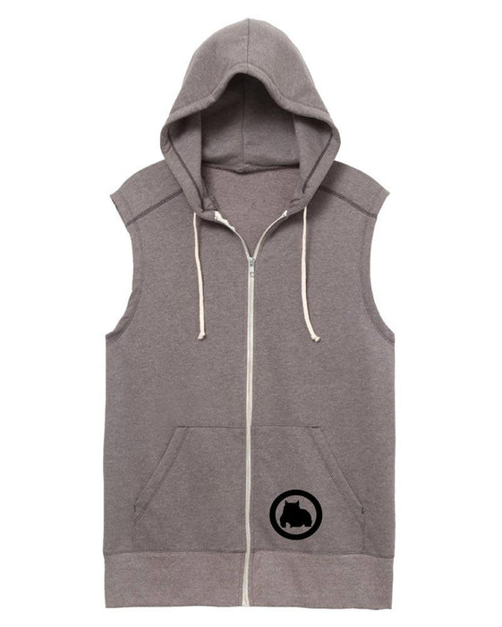 BGM Sleeveless Athletic Warm-Up Hoodie