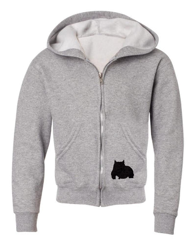 BGM Youth Athletic Bully Breed Zip-up Hoodie - BGM Warehouse - The Best Bully Breed Magazines, Clothing and Accessories