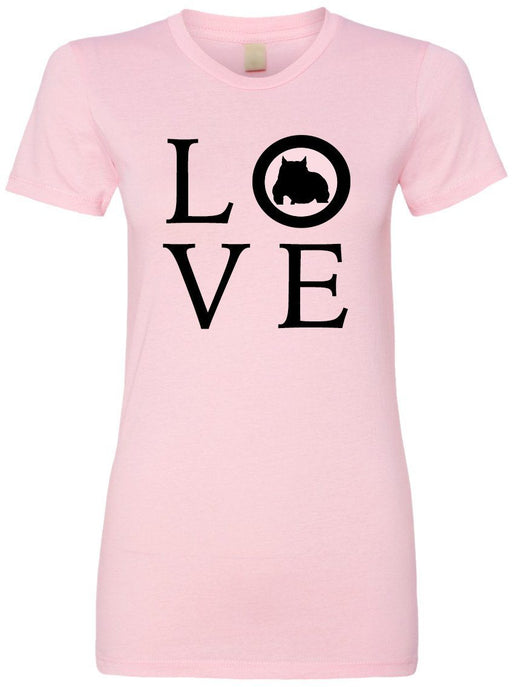 Bully Dog Love Ladies Short Sleeve Tee