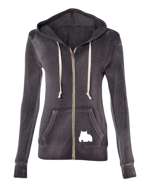 Bully Girl Angel Fleece Hooded Zip Up - BGM Warehouse