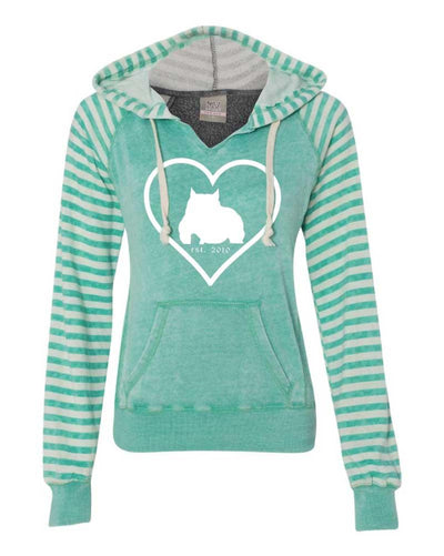 Bully Girl Angel Fleece Hooded Pullover - BGM Warehouse - The Best Bully Breed Magazines, Clothing and Accessories