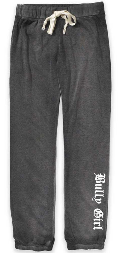 Bully Girl Angel Fleece Sweatpants - BGM Warehouse - The Best Bully Breed Magazines, Clothing and Accessories