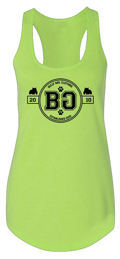 Bully Girl Flavor Racerback Tank - BGM Warehouse - The Best Bully Breed Magazines, Clothing and Accessories