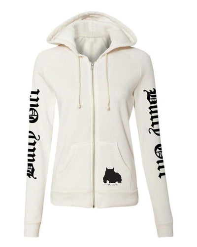 Bully Girl Ladies Eco Fleece Zip Up