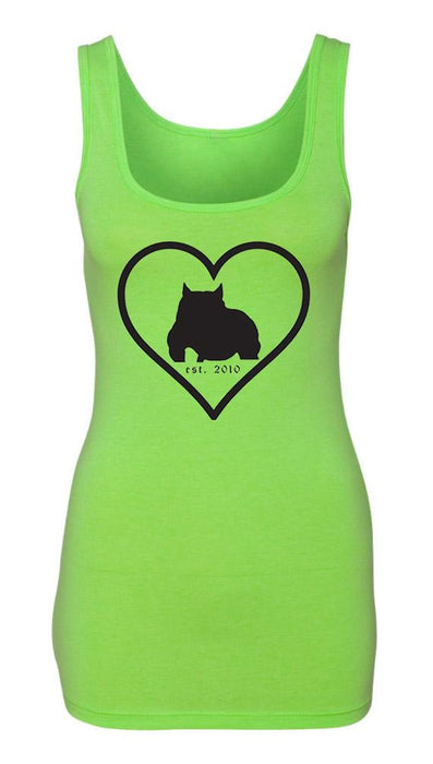 Bully Girl Love_ladies Jersey Tank