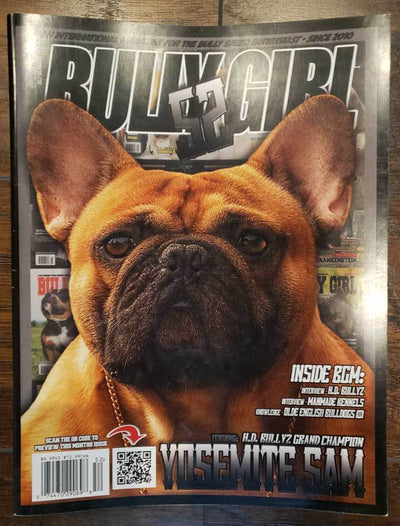 Bully Girl Magazine Issue 52 (Used) - BGM Warehouse - The Best Bully Breed Magazines, Clothing and Accessories