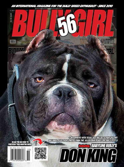 Bully Girl - Digital Issue 56 - BGM Warehouse - The Best Bully Breed Magazines, Clothing and Accessories
