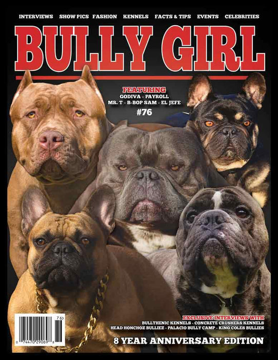 Bully Girl Magazine Issue 76 (8-Year Anniversary Edition)