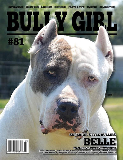 Bully Girl Magazine Issue 81 - (Last Copy) - BGM Warehouse - The Best Bully Breed Magazines, Clothing and Accessories