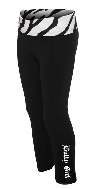 Bully Girl® Practice Yoga Pants - BGM Warehouse - The Best Bully Breed Magazines, Clothing and Accessories