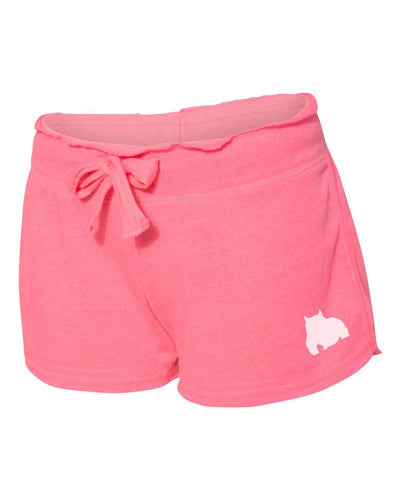 Bully Girl Raw Edge Nassau Shorts - BGM Warehouse - The Best Bully Breed Magazines, Clothing and Accessories