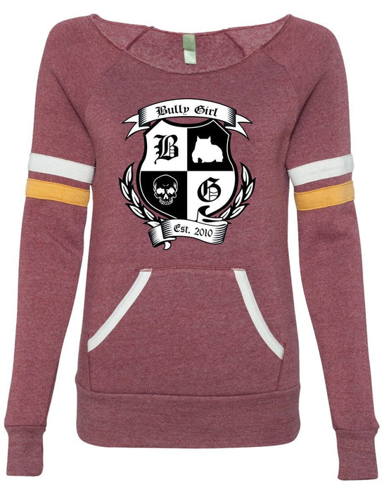 Bully Girl Sporty Eco-Fleece Sweatshirt