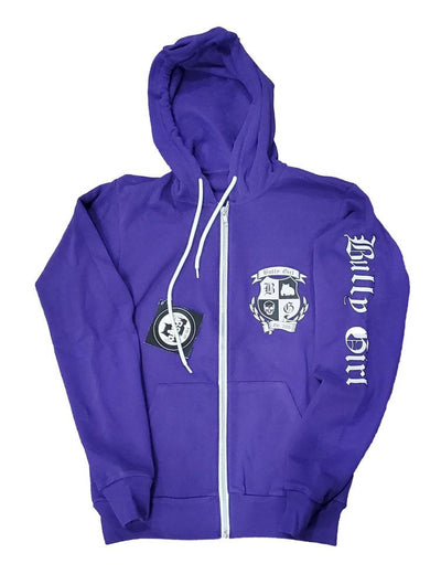 Bully Girl Sporty Zip UP Hoodie