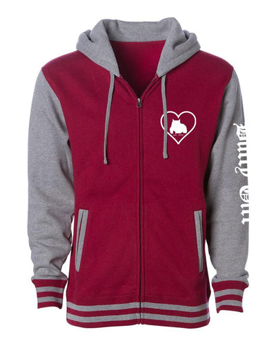 Bully Girl Women's Varsity Jacket - BGM Warehouse - The Best Bully Breed Magazines, Clothing and Accessories