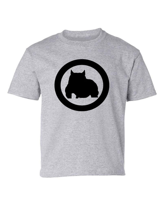 Kids Sport Grey Bully Athletic Fit Tee