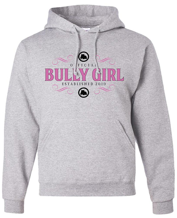 Official Bully Girl Hoodie - Ash Gray