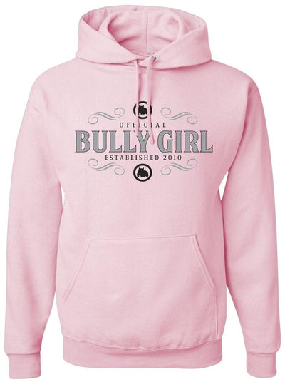 Official Bully Girl Pullover Hoodie - BGM Warehouse - The Best Bully Breed Magazines, Clothing and Accessories