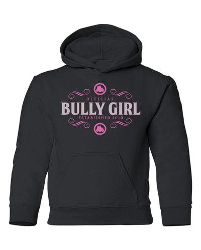Official Bully Girl Youth Hoodie - BGM Warehouse - The Best Bully Breed Magazines, Clothing and Accessories