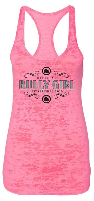 Official Bully Girl Racerback Burnout Tanks - BGM Warehouse