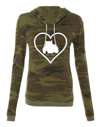 Bully Girl Love Classic Hooded Pullover Tee