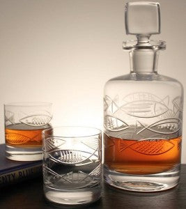 angler decanter set