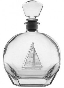Sail Boat decanter