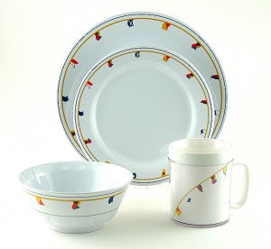 Nautical Dinnerware Unbreakable Melamine