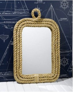 Nautical Mirror Rope Trim