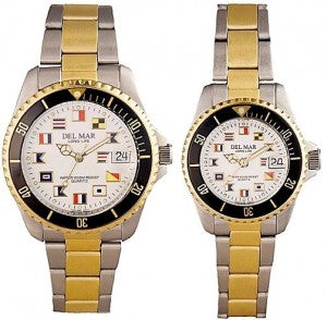 Code Flag Nautical Watch