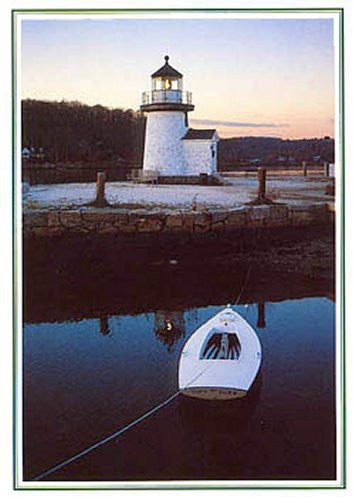 Mystic Lighthouse Blank Note Cards