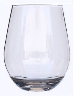 Non-Breakable Connoisseur Stemless Wine Glass Tumbler Sets - Nautical Luxuries