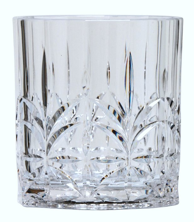 Majesty Crystal Cut Acrylic Glasses - Nautical Luxuries