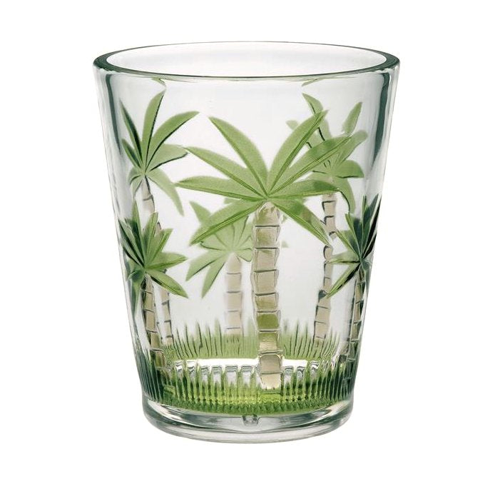 Key West Palm Acrylic Barware Collection - Nautical Luxuries