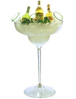 Grande Floor-Standing Margarita Glass Acrylic Ice Bucket - Nautical Luxuries
