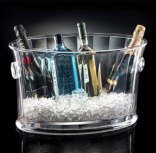 Sun Deck Acrylic Party Ice Tub - Nautical Luxuries