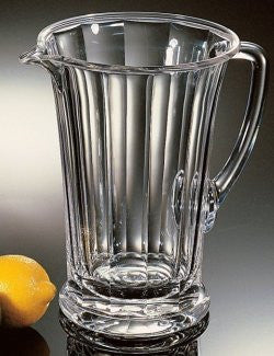 Sculpted Heavy-Weight Acrylic Pitcher
