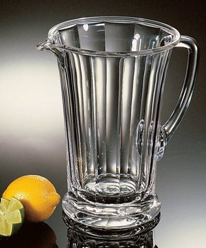 Sculpted Heavy-Weight Acrylic Pitcher - Nautical Luxuries